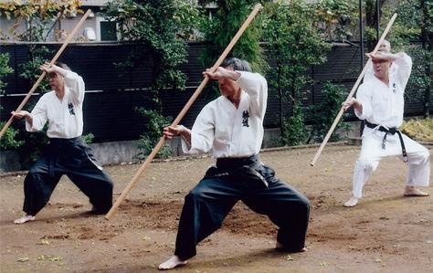 אימון מקל ארוך יפני - בו