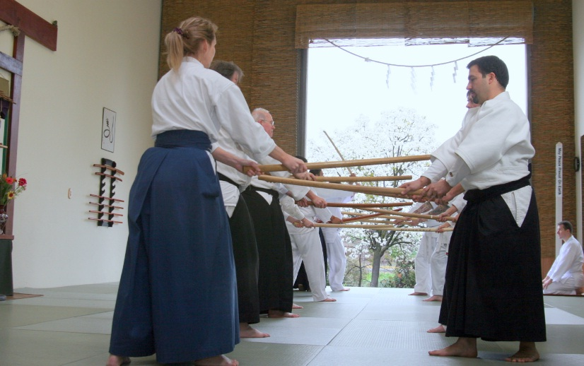 אימון חרב ומקל - אייקידו