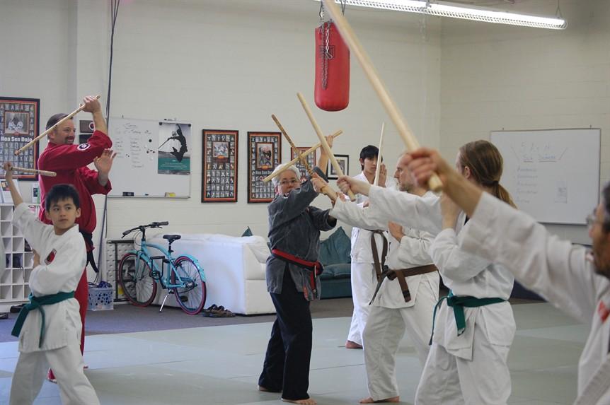 אימון מקל קצר - הנבו טנבו