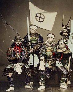 לוחמים סמוראיים יפנים