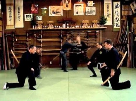 נינג'יטסו - אימון כלי נשק