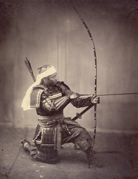 חץ וקשת סמוראי יפני