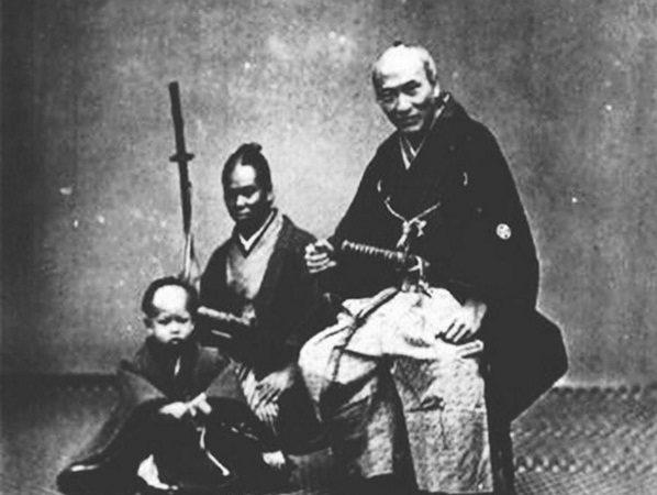 הסמוראי השחור הראשון בהיסטוריה של יפן