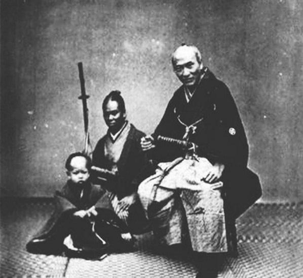 הסמוראי השחור הראשון ביפן