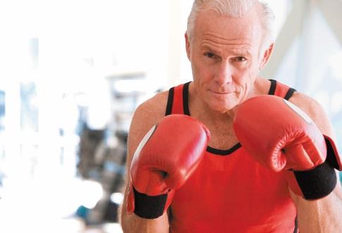 איגרוף בגיל מבוגר פנסיה