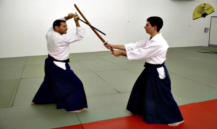תירגול אייקיקן - קאטה עם חרב בוקן באייקידו