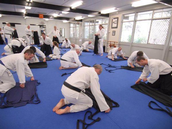איך מקפלים האקמה – באומנויות הלחימה היפניות המסורתיות