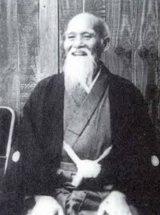 איקידו - מוֹרִיהֶיי אוּאֶשִיבָּה או-סנסיי