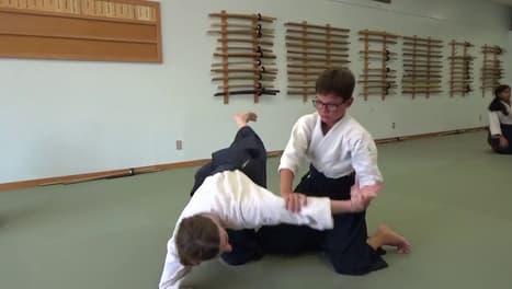 אייקידו איקיו טכניקה