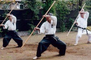 אימון קובודו - כלי נשק יפניים - בו מקל ארוך
