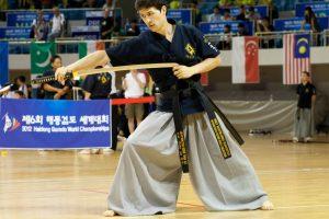 היידונג גומדו - לחימה בחרב קוריאה