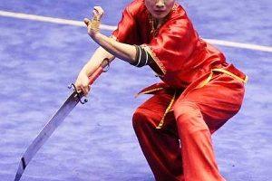 וושו - קונג פו סיני עם חרב