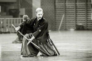אימון איאיידו - חרב יפנית