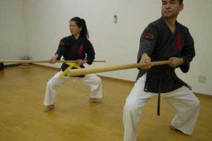 אימון קובודו - כלי נשק יפניים