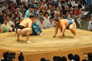 מתאבקי סומו יפני