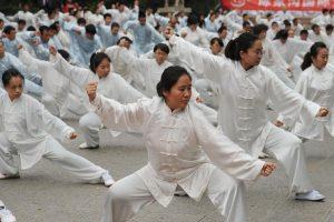 טאי צ'י בסין